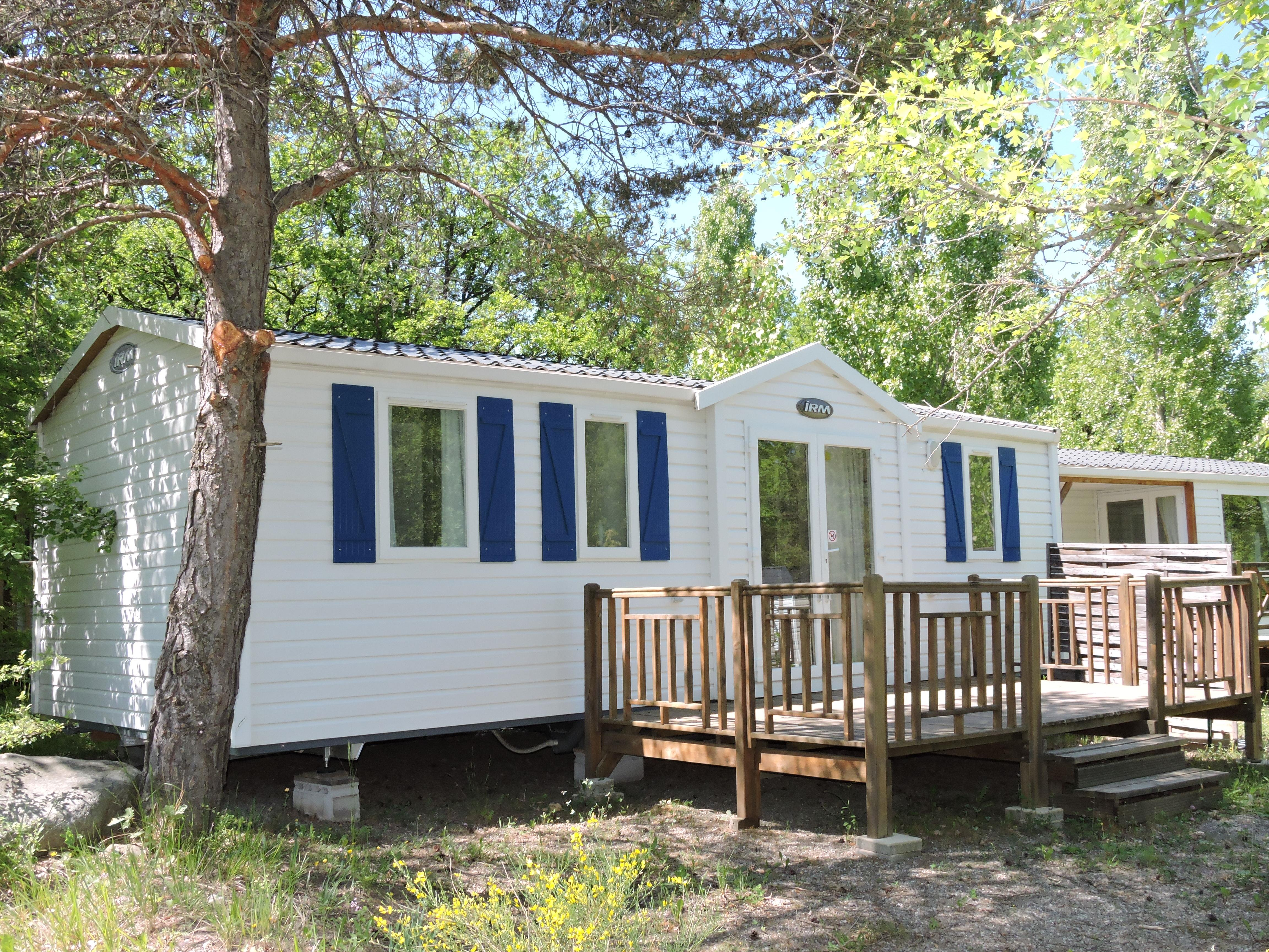 Location - Mobil Home Super Cordelia - 3 Chambres - 32M2 - Camping Les Bonnets
