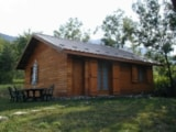 Rental - Country Cottage 'Great Comfort' - Camping Chalets Résidentiels SAINT JAMES LES PINS