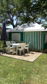 Rental - Canvas bungalow - Camping l'Olivier