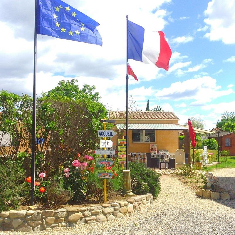 Betrieb Camping l'Olivier - Massillargues Attuech