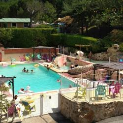 Baignade Domaine Camping  Les Roches - Le Crestet