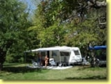 Pitch - Pitch - big caravan - Camping Villaggio Rio Verde