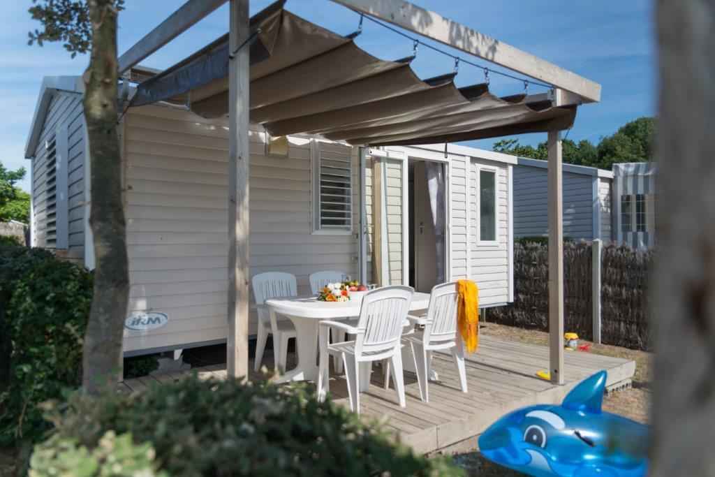 Accommodation - Mobile-Home Vénus  - 22M² - 2 Bedrooms - Camping LES CHOUANS