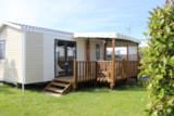 Rental - Mobile Home Grand Confort 24 m² / 2 bedroom - Half-covered terrace - Camping La Prairie ****
