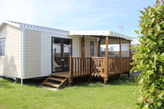 Mobile Home Grand Confort 24 m² / 2 bedroom - Half-covered terrace
