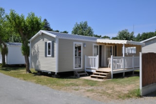 Mobile home Grand Confort 30m² / 2 bedrooms - Half-covered terrace