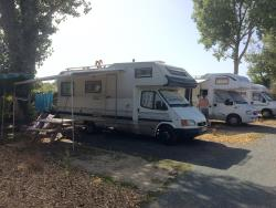 Piazzole Camper 35m²  / parking