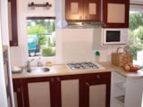 Rental - Mobile home - 3 bedrooms - 1 bathroom -Family - Castel Le Caussanel