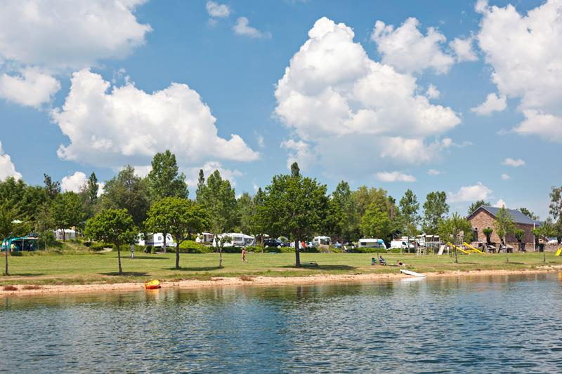 Camping le Caussanel, Canet-de-Salars, Aveyron