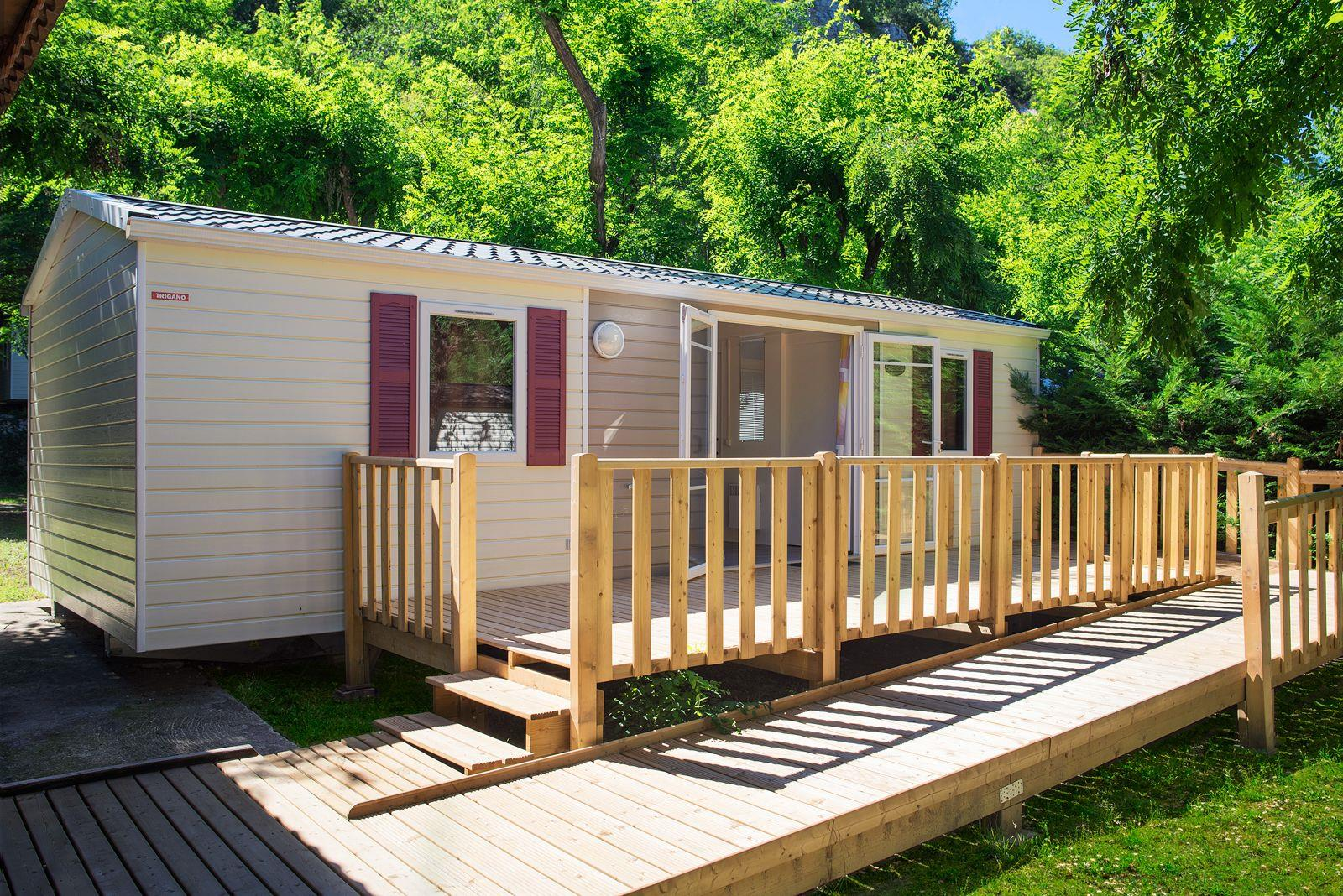 Mobil-Home wheelchair friendly (2 rooms)