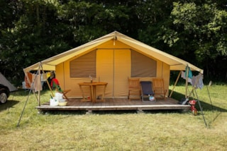 Cottage Tent adapted to people with impaired mobility