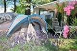 Pitch - Pitch Confort 130m² Electrical connection - Camping Sunêlia L'Hippocampe