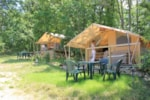 Rental - Tent cotton lodge - Camping Sites et Paysages LES PASTOURELS