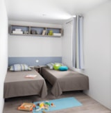 Rental - Mobile home Premium,  possibility to but a baby bed in parents' room - Camping Sites et Paysages LES PASTOURELS