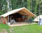 Rental - Tent cotton nature - Camping Sites et Paysages LES PASTOURELS