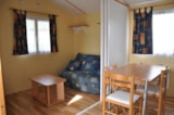 Rental - Mobil home 23 m² 1 bedroom - covered terrace - Camping Domaine des Salins