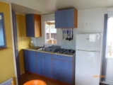 Rental - Mobile home 27m² / 2 bedrooms - covered terrace (>8 years) - Camping Domaine des Salins