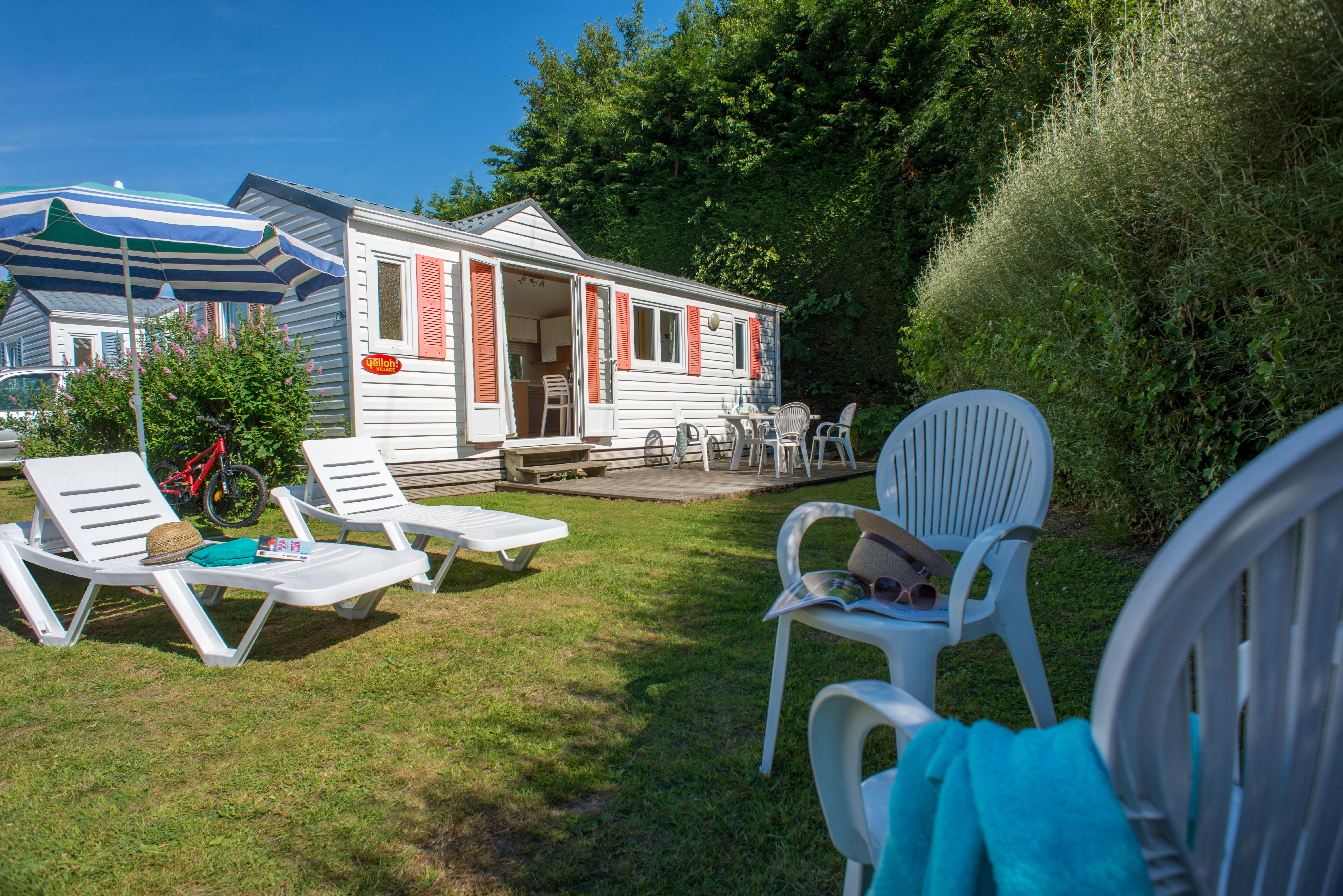 Huuraccommodaties - Cottage ** (2 Kamers) - YELLOH! VILLAGE - LE P'TIT BOIS