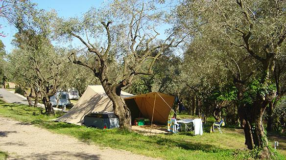 Emplacement - Emplacement Restanque - Tente - Camping Les Philippons