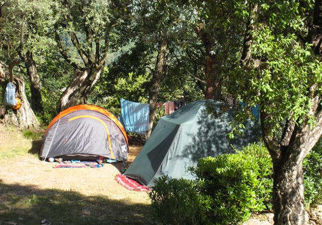 Emplacement - Emplacement Nature - Tente 3X3m Max - Camping Les Philippons