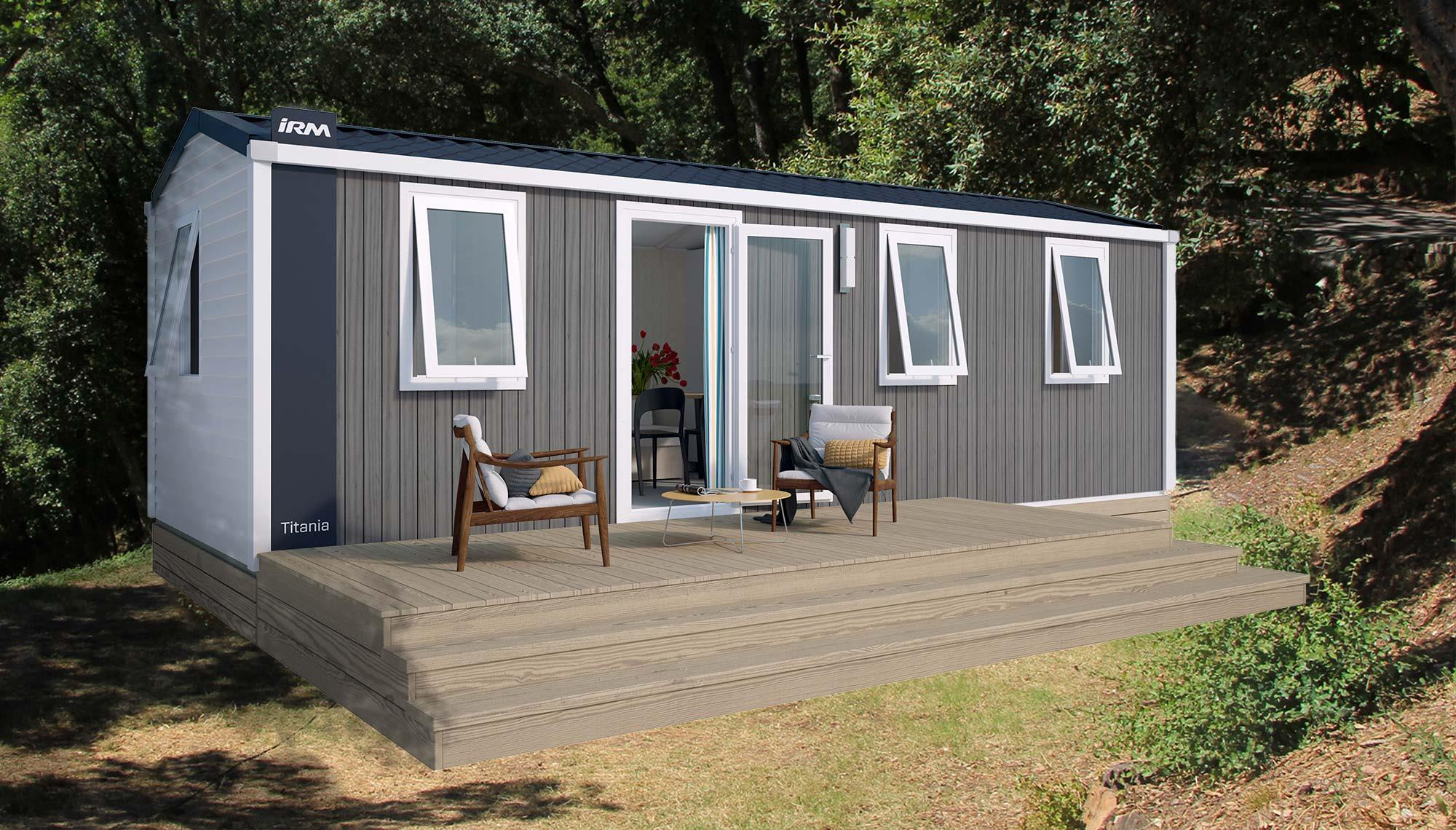 Location - Mobil-Home Irm Titania - Camping Les Philippons