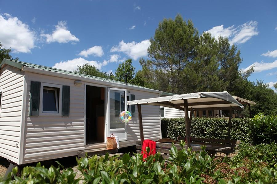 Location - Mobilhome Standard 2 Chambres Climatisé - Camping Les Blimouses