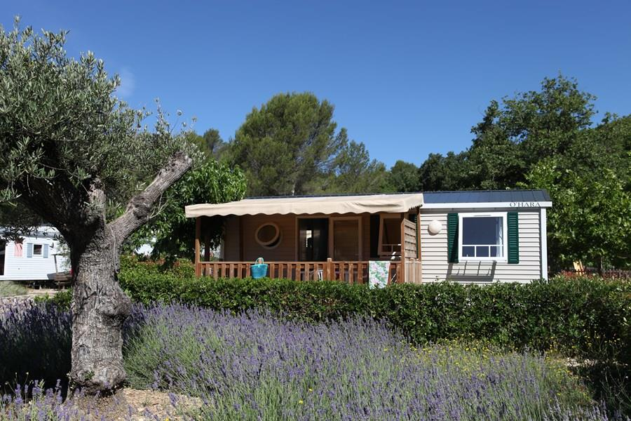 Location - Mobilhome 3 Chambres Grand Confort Climatisé - Camping Les Blimouses