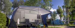 COMFORT TOURING PITCH FOR CARAVANS AND CAMPERVANS