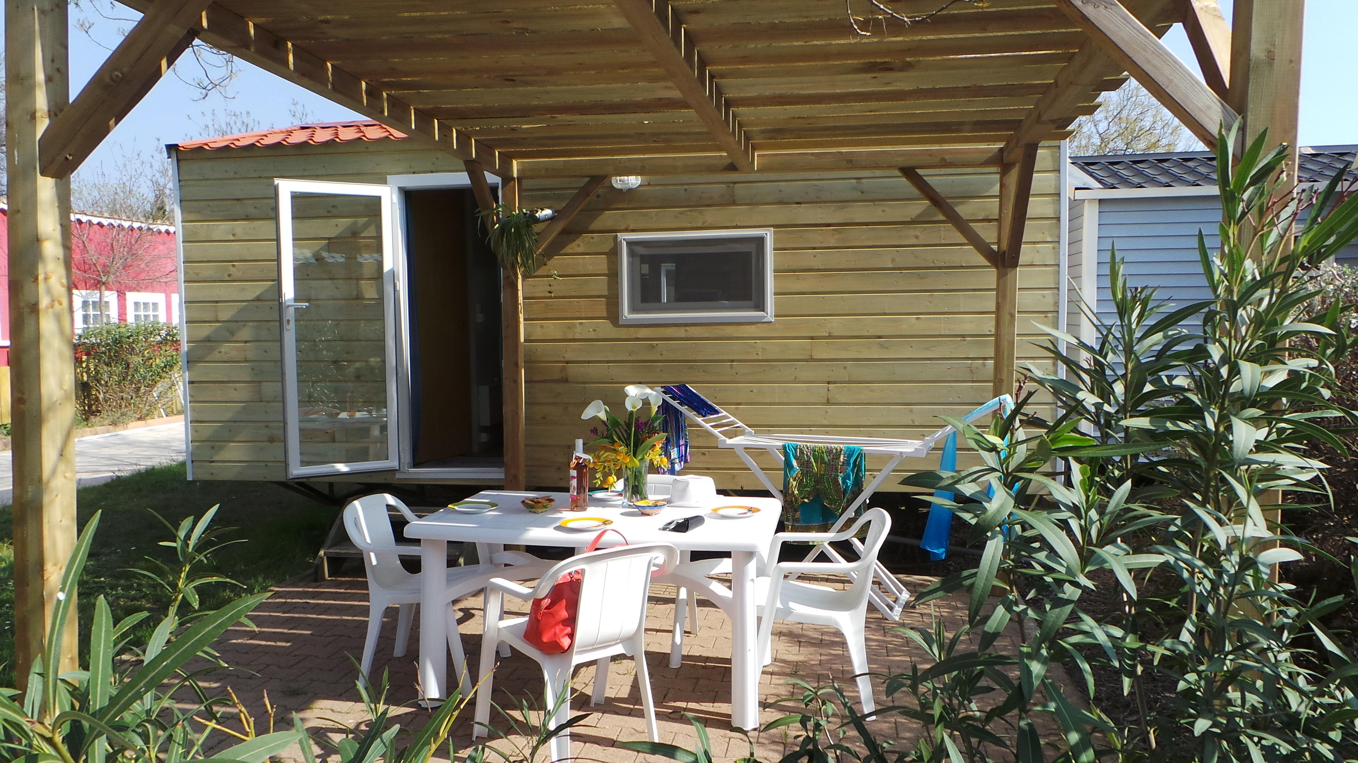Location - Mobil-Home Simply (Sans Sanitaires) : 2 Chambres - Camping Port Pothuau