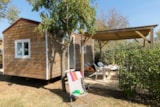 Rental - MOBILHOME WITHOUT TOILET BLOCK (2 bedrooms) - Camping Port Pothuau