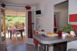 Rental - BUNGALOW AIR CONDITIONNED (1 bedroom) - Camping Port Pothuau