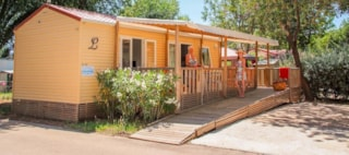 Mobil-Home Facility Air Conditioned (2 Bedrooms) - Adapted To The People With Reduced Mobility