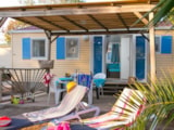 Rental - Mobil-Home Cosy 4  Air Conditioning (2 Bedrooms) - Camping Port Pothuau