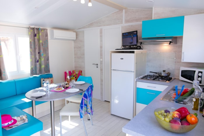 Mobil-Home Cosy 4 Climatise : 2 Chambres