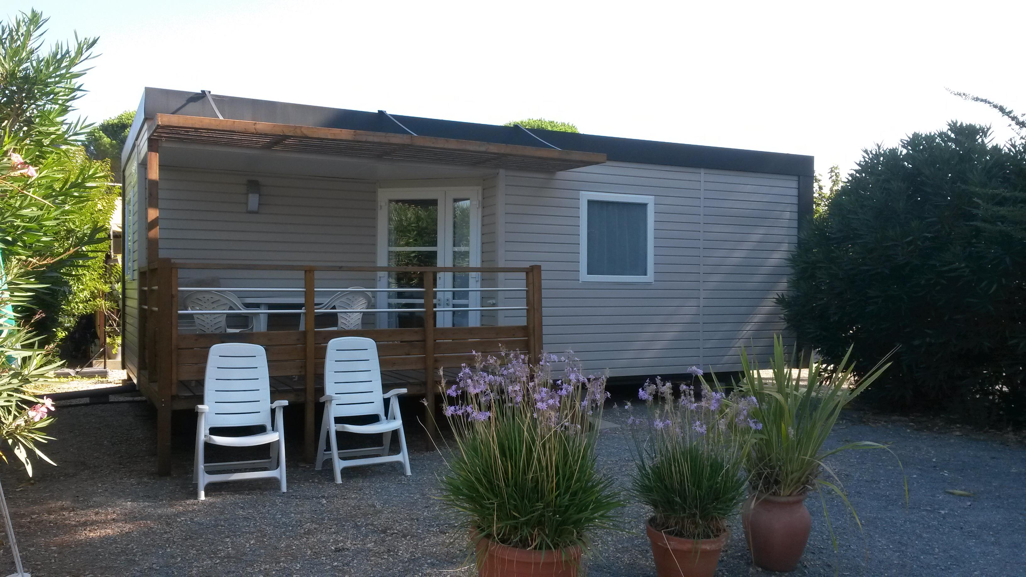 Location - Mobil-Home Rapidhome - Camping de Vaudois