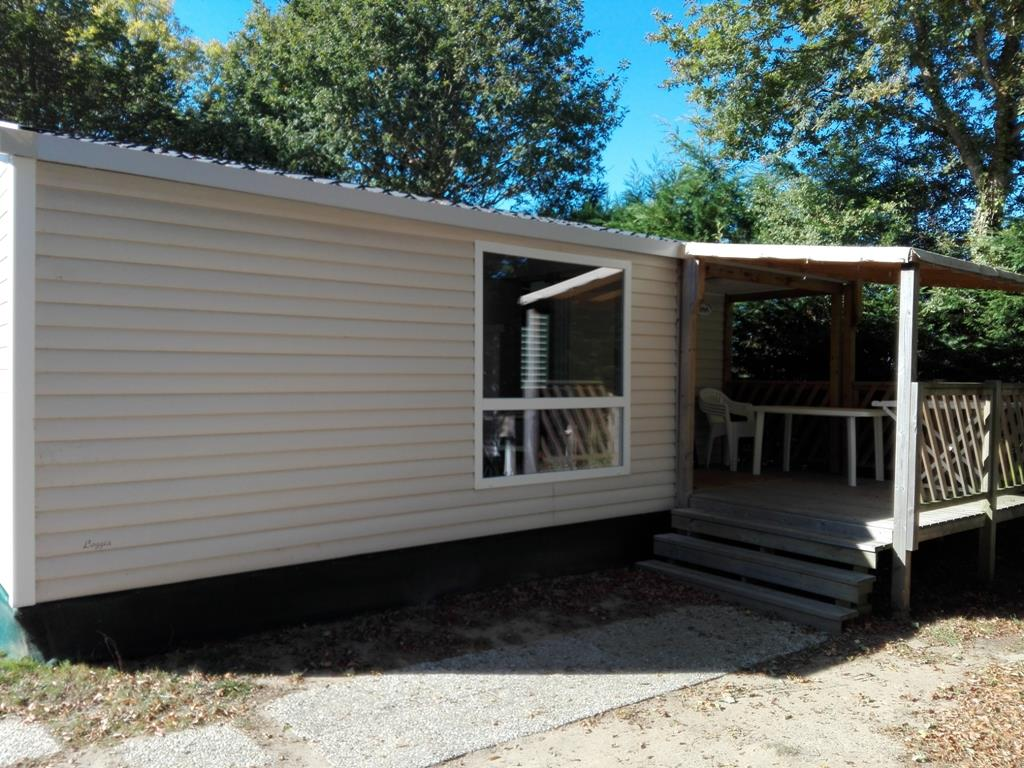 Location - Mobil-Home Sloop 2 Chambres 26M² - Camping Le Patisseau