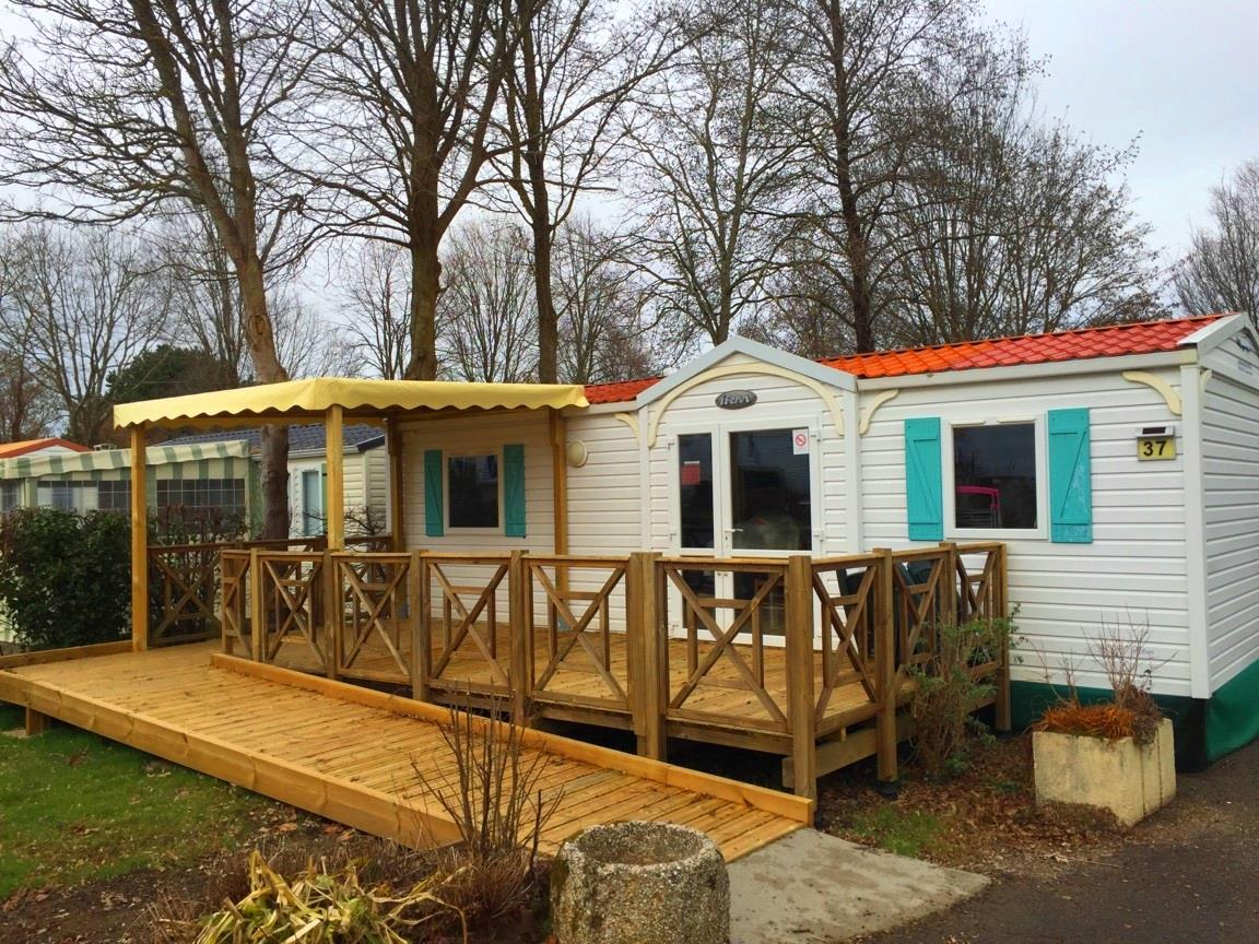 Location - Mobil-Home Caravelle Pmr 2 Chambres 31M² - Camping Le Patisseau