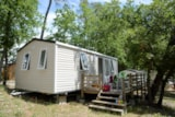 Rental - Mobile Home Comfort 26M² - 2 Rooms Sunday - Camping Le Parc