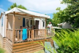 Rental - Mobile-home 2 bedrooms - Camping La Plage d'Argens