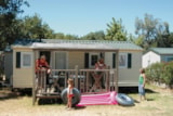 Rental - Mobil-Home Colorado 6 Pers. + Place Per 1 Vehicle (In The Car Park Of The Campsite Or Next To Mobile Home) - Camping Domaine du Golfe de Saint Tropez