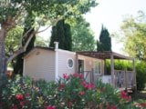 Rental - Mobil-Home Duo 2 Pers. + Place Per 1 Vehicle - Camping Domaine du Golfe de Saint Tropez