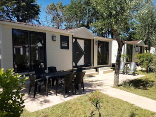 Mobil-Home Athena 6 Pers. Walking Zone + Place Per 1 Vehicle At The Entrance Parking