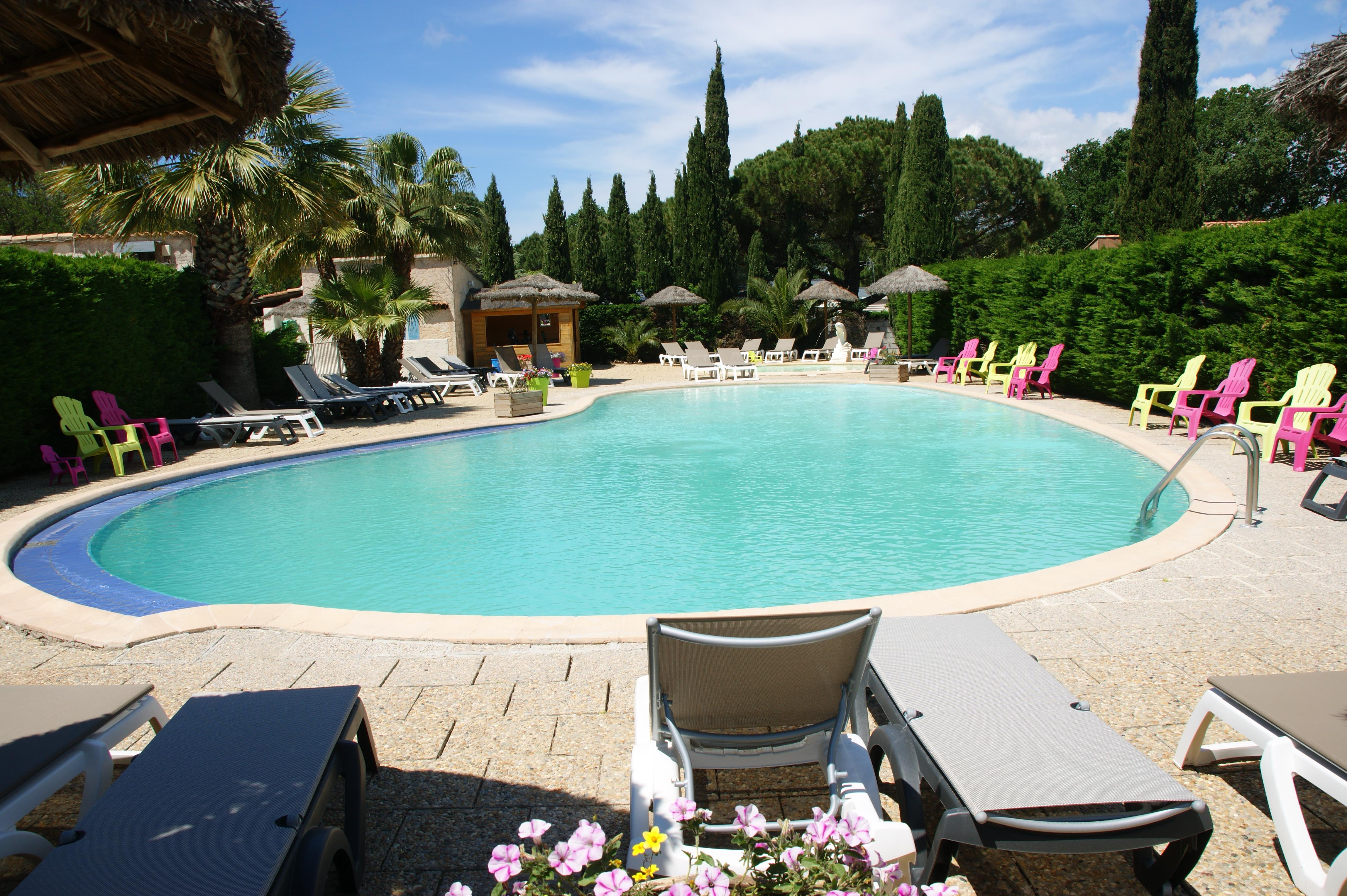Mare, piscina Camping Orly d'Azur - SIX FOURS LES PLAGES