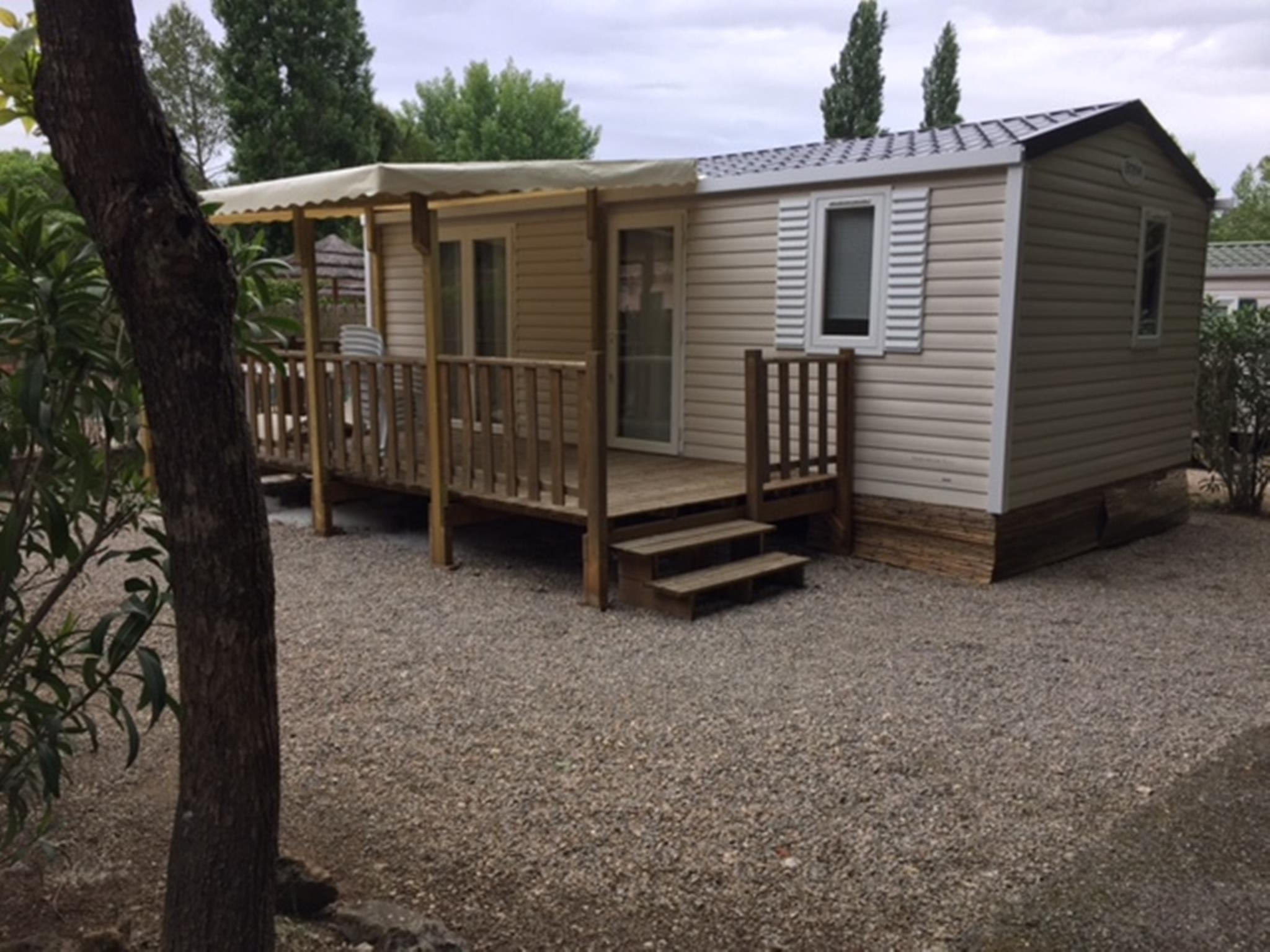 Location - Grand Confort Cottage - Camping Fouguières
