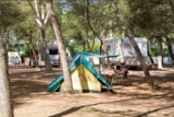 Pitch - Pitch: car/motorbike + tent > 3 places /caravan or camping-car + electricity - Camping Santa Maria di Leuca