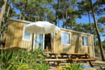 Rental - Mobile-home Resort + Resinier Top Presta 3 bedrooms - Capfun - Camping Le Petit Nice