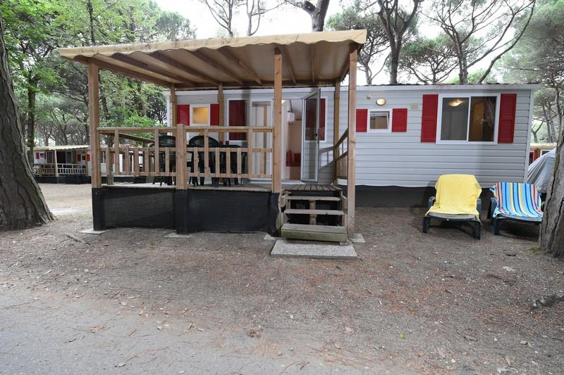 Location - Mobil Home Mimosa 4+1 - International Camping Mare e Pineta