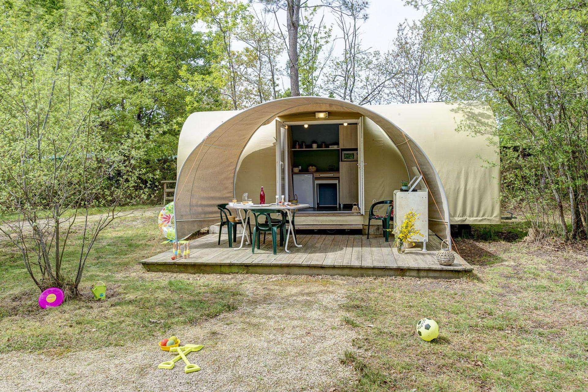 Mietunterkunft - Coco Sweet 2 Zimmer* - Camping Sandaya Le Col Vert