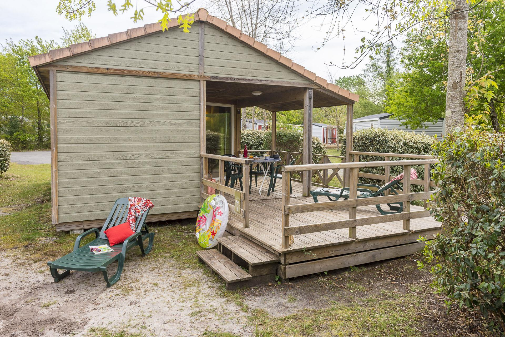 Location - Chalet 2 Chambres *** - Camping Sandaya Le Col Vert