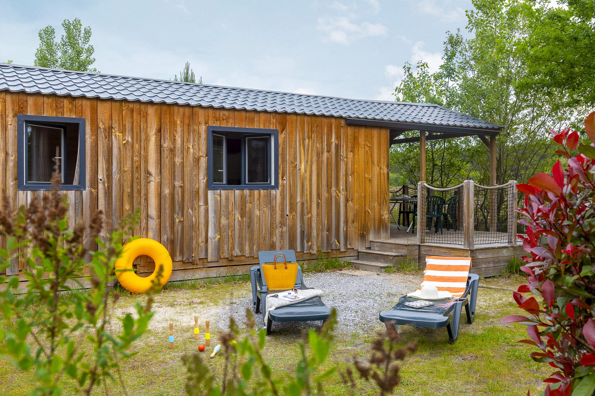 Location - Cottage 2 Chambres**** - Camping Sandaya Le Col Vert